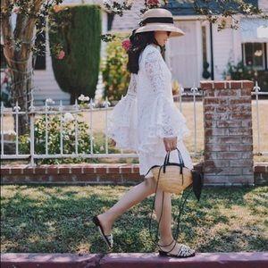 NWT Alexis Veronique white lace Dress
